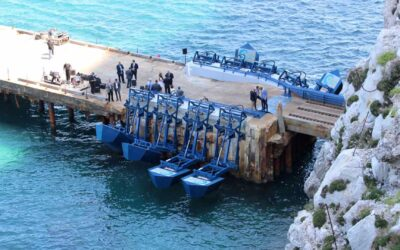Moto ondoso marino: sistemi per conversione di energia rinnovabile